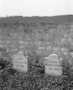 오베르에 있는 핀센트와 테오의 무덤